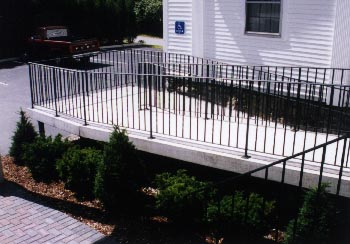 Pre-cast Concrete Handicapped Accessibility Ramps