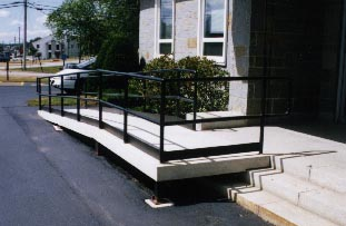 Ramp installation