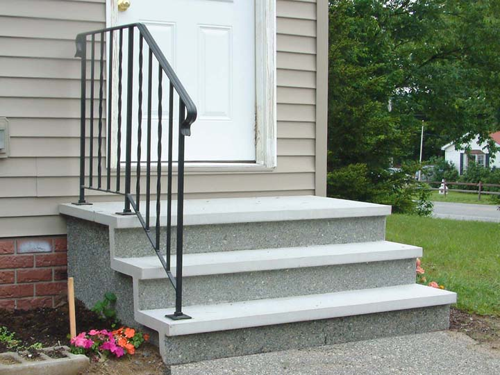 Shawnee Pre Cast Concrete Steps And Stair Systems Of Maine
