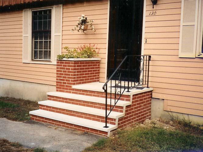 Shawnee Pre Cast Concrete Planters And Planter Steps For