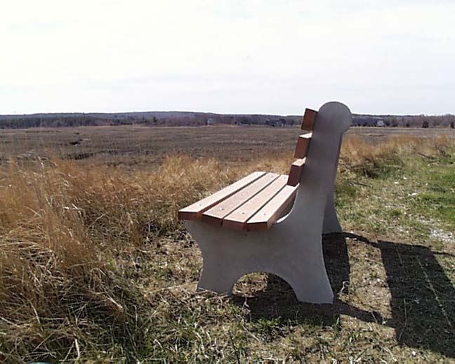 Shawnee Park Benches By American Concrete Industries Of Auburn