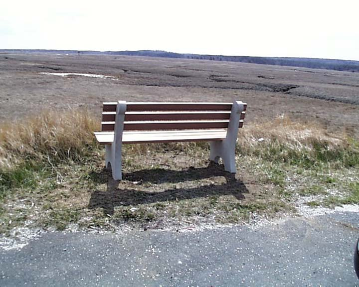 Shawnee Park Benches By American Concrete Industries Of